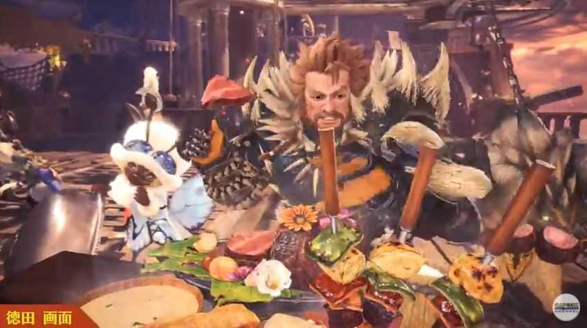 『MHWモンハンワールド攻略』アステラ祭りの飯食べるメリットってなんなの?