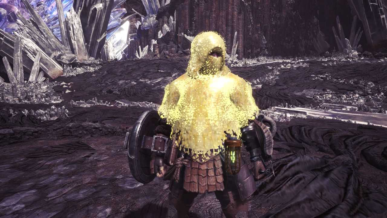 『MHWモンハンワールド攻略』装衣ってやっぱり脱がないと効果時間復活しないんだよね?